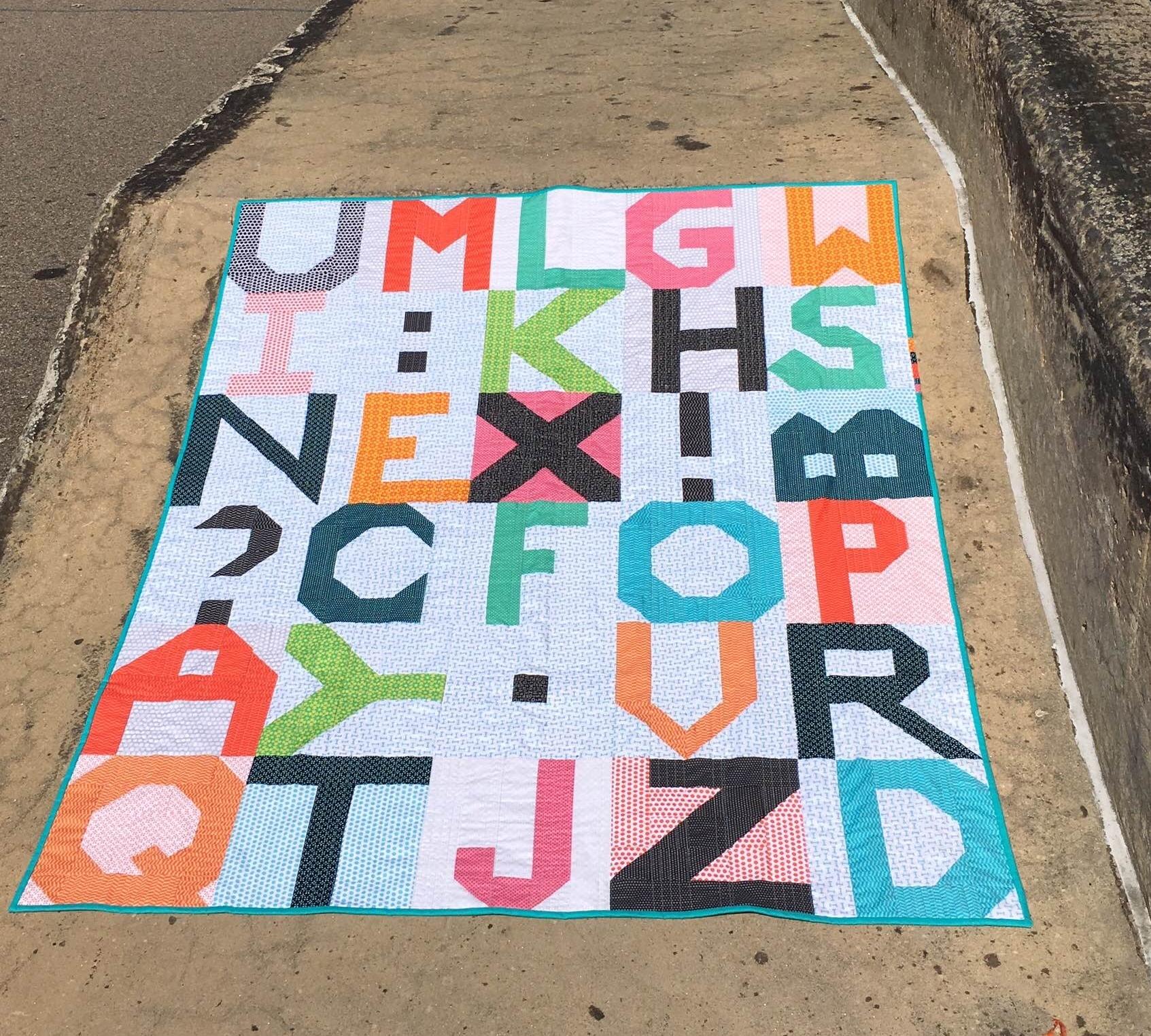 Random Letters! Quilt