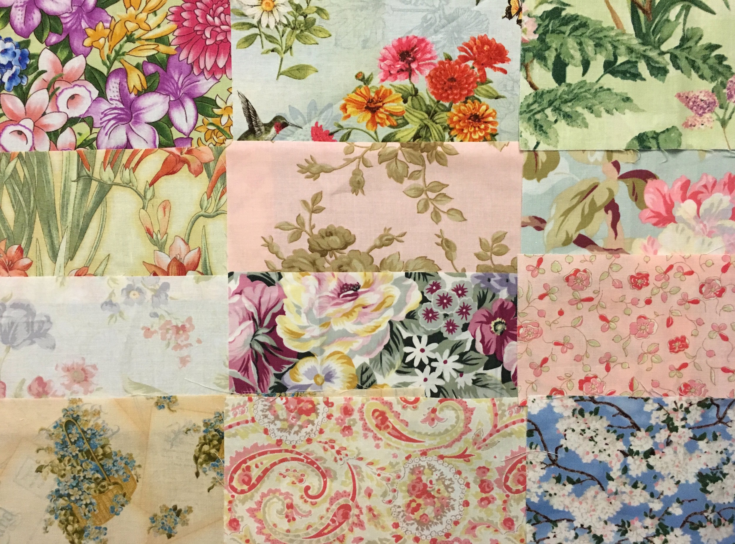 "A few of the fabrics in my ""Sew Chic"" stack from Keepsake Quilting"