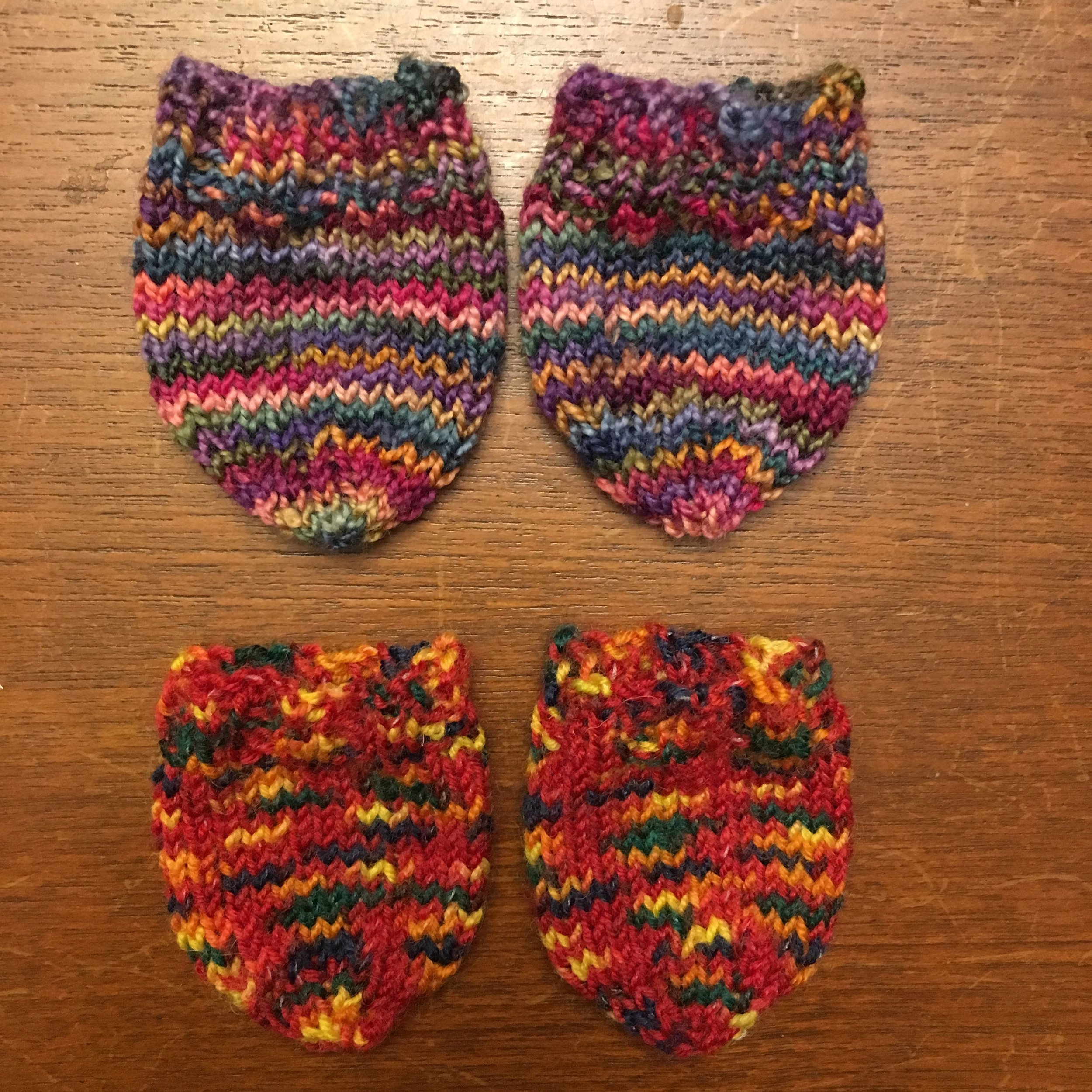 """Socks for 11-12"""" Traditional Waldorf Type dolls with a 4 1/2 inch ankle (foot) circumference. They will fit  Bamboletta Little Buddy  dolls."""