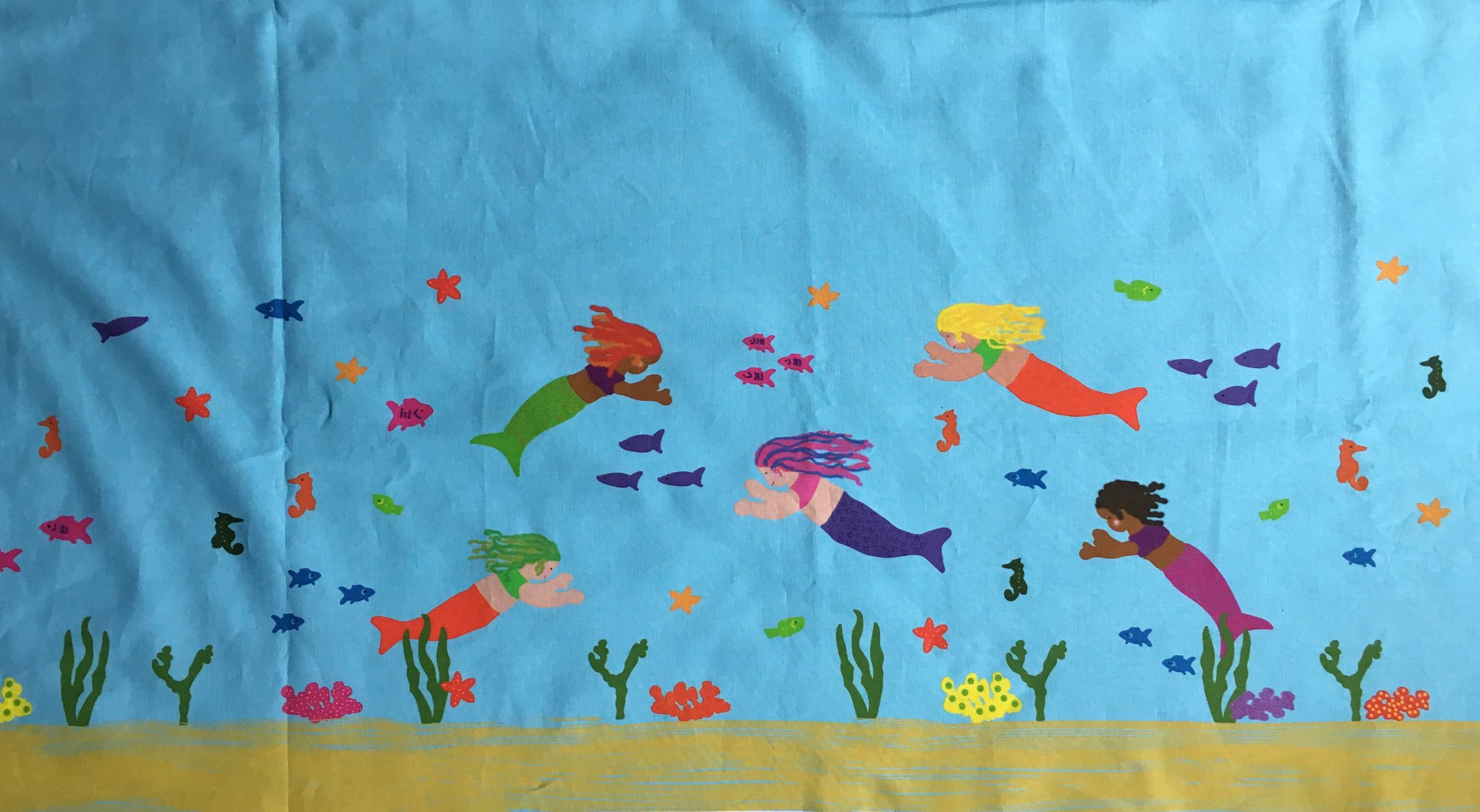 Mermaid Panel for the Child's Skirt