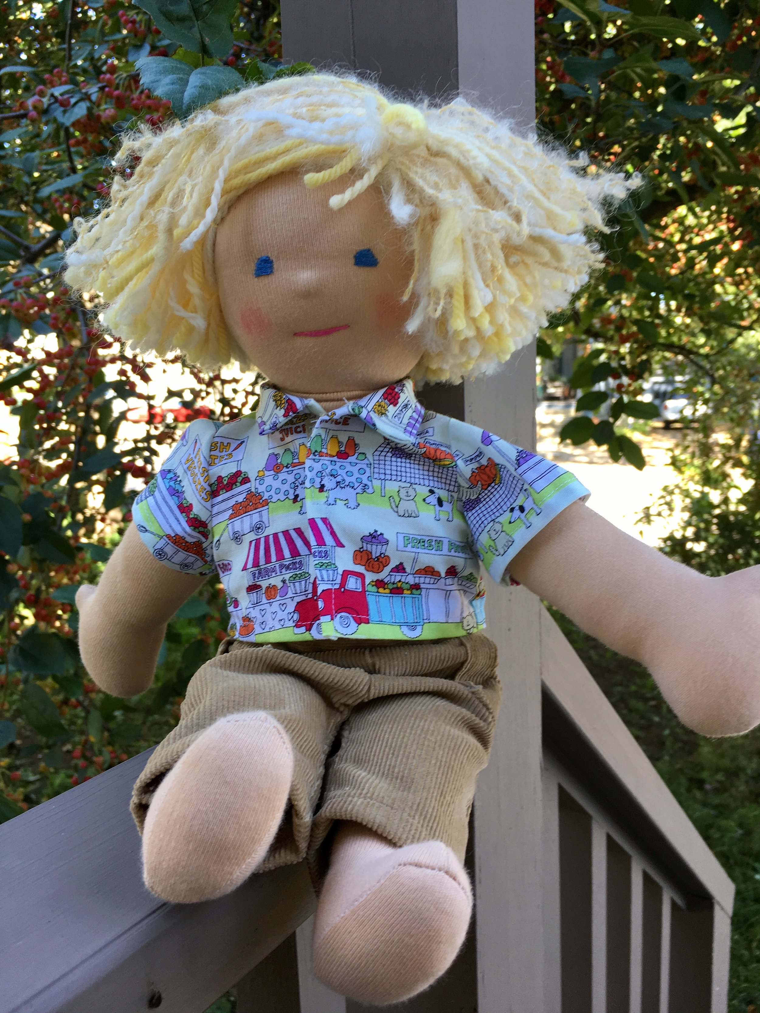 Davey, a Waldorf Type Doll