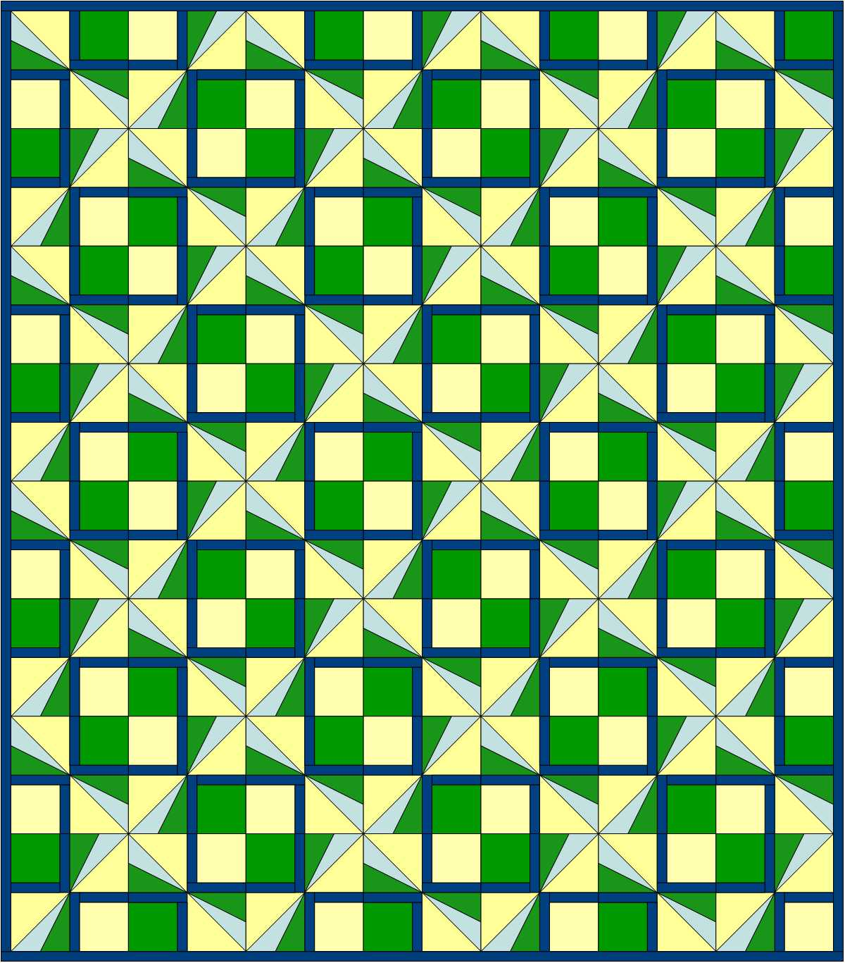 Pinwheel Plaid quilt design