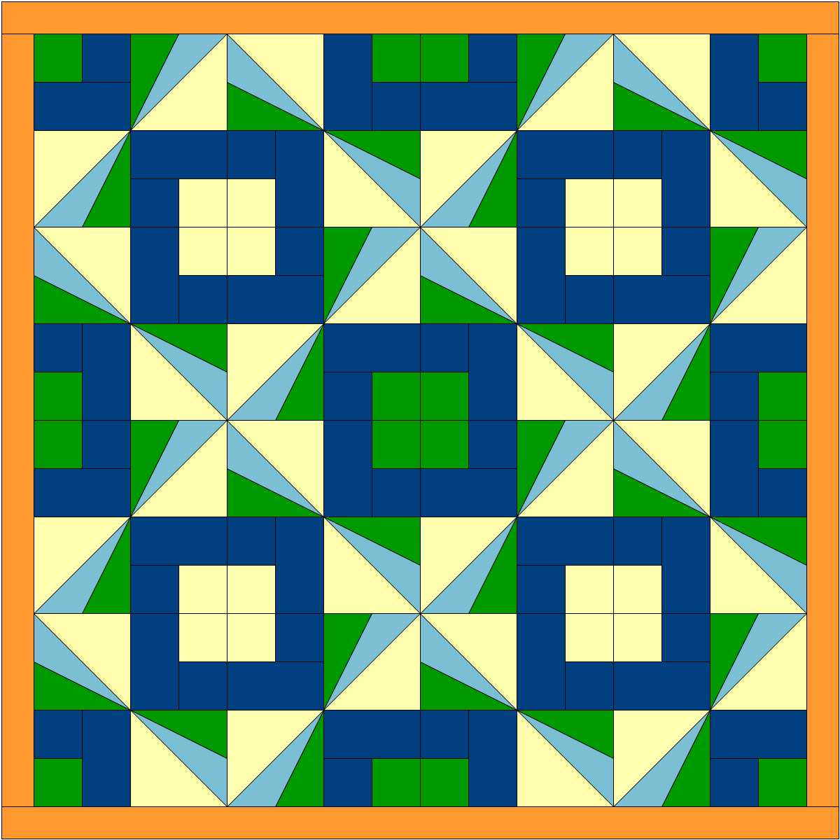 Sunbeams quilt 2 colors vs 2.JPG