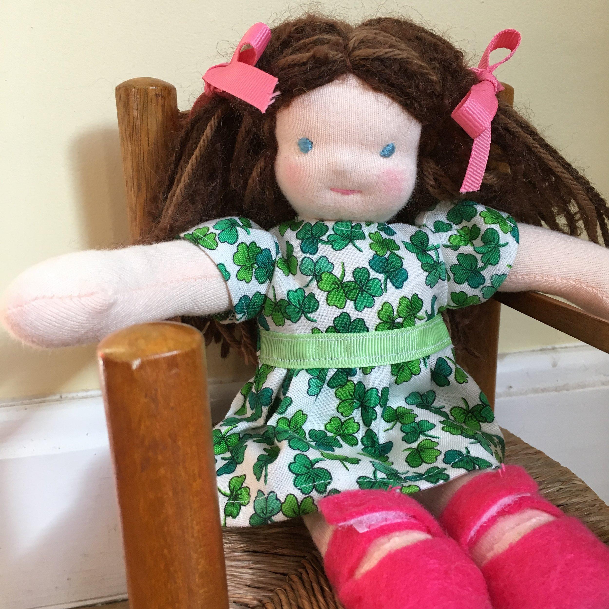 """Fair Fiona, 8"""" Waldorf Doll"""