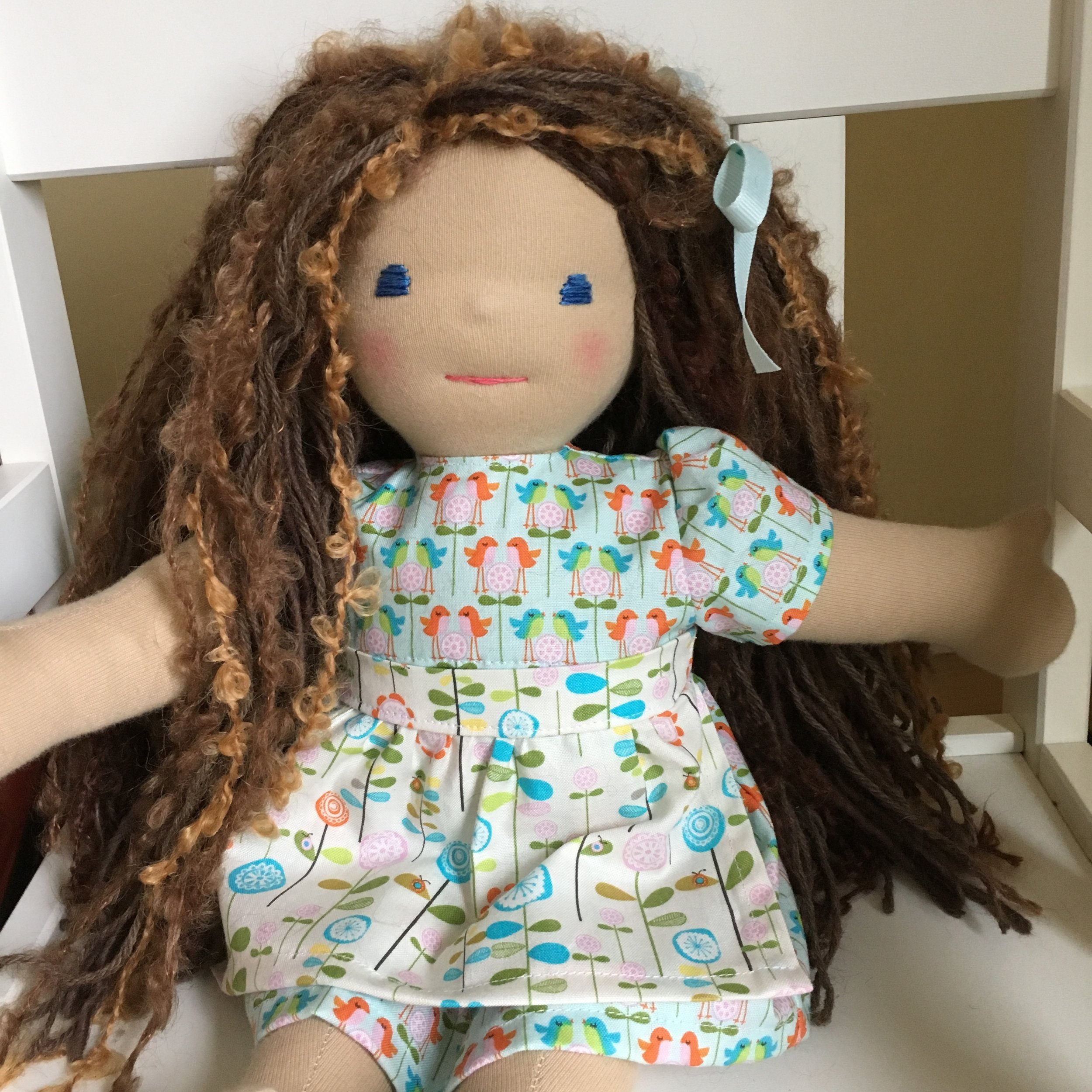 Waldorf Style dolls, getting the neck right