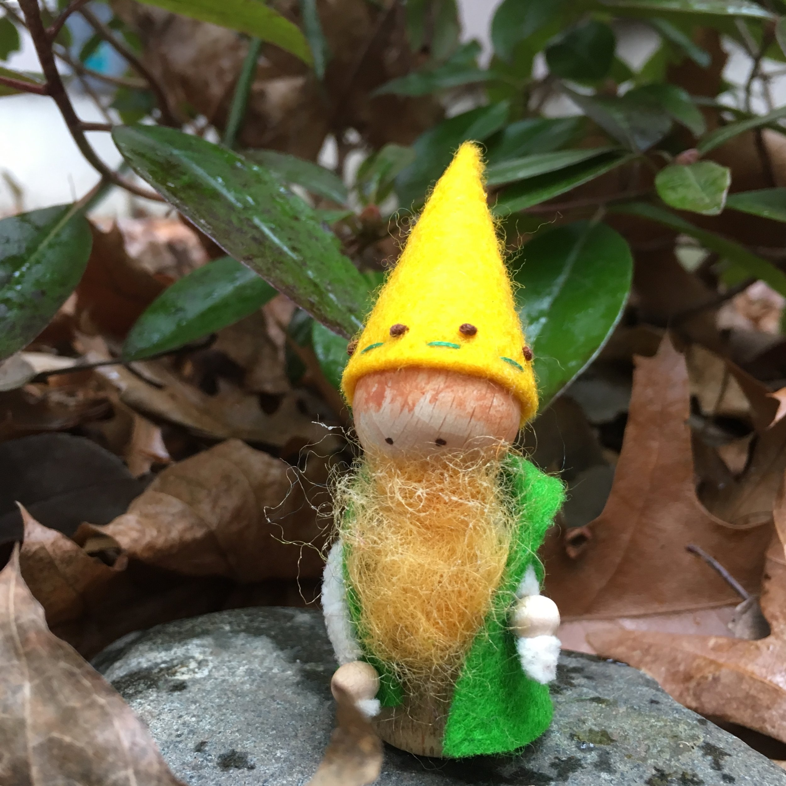 The Ginger Gnome, 2 3/4 inches