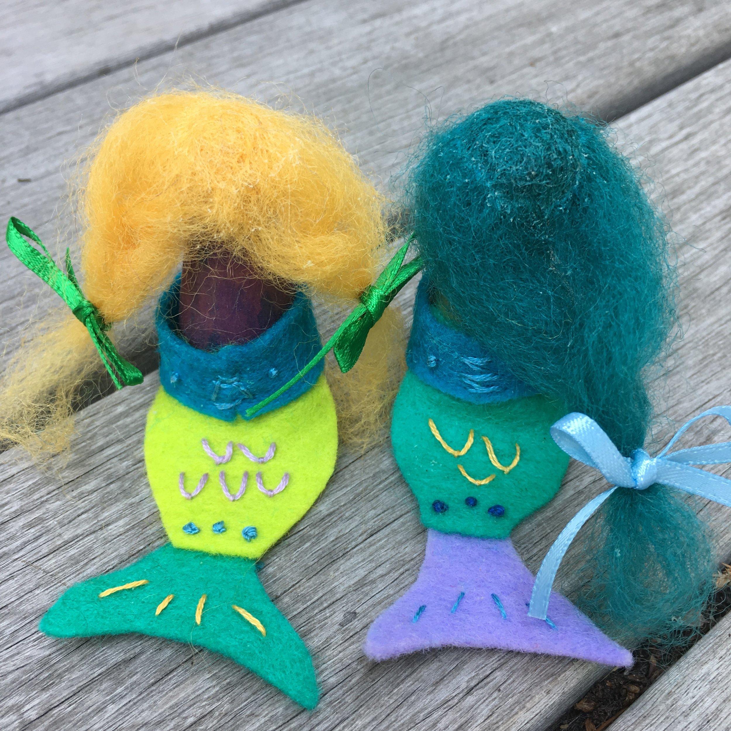 Peg Doll Mermaids