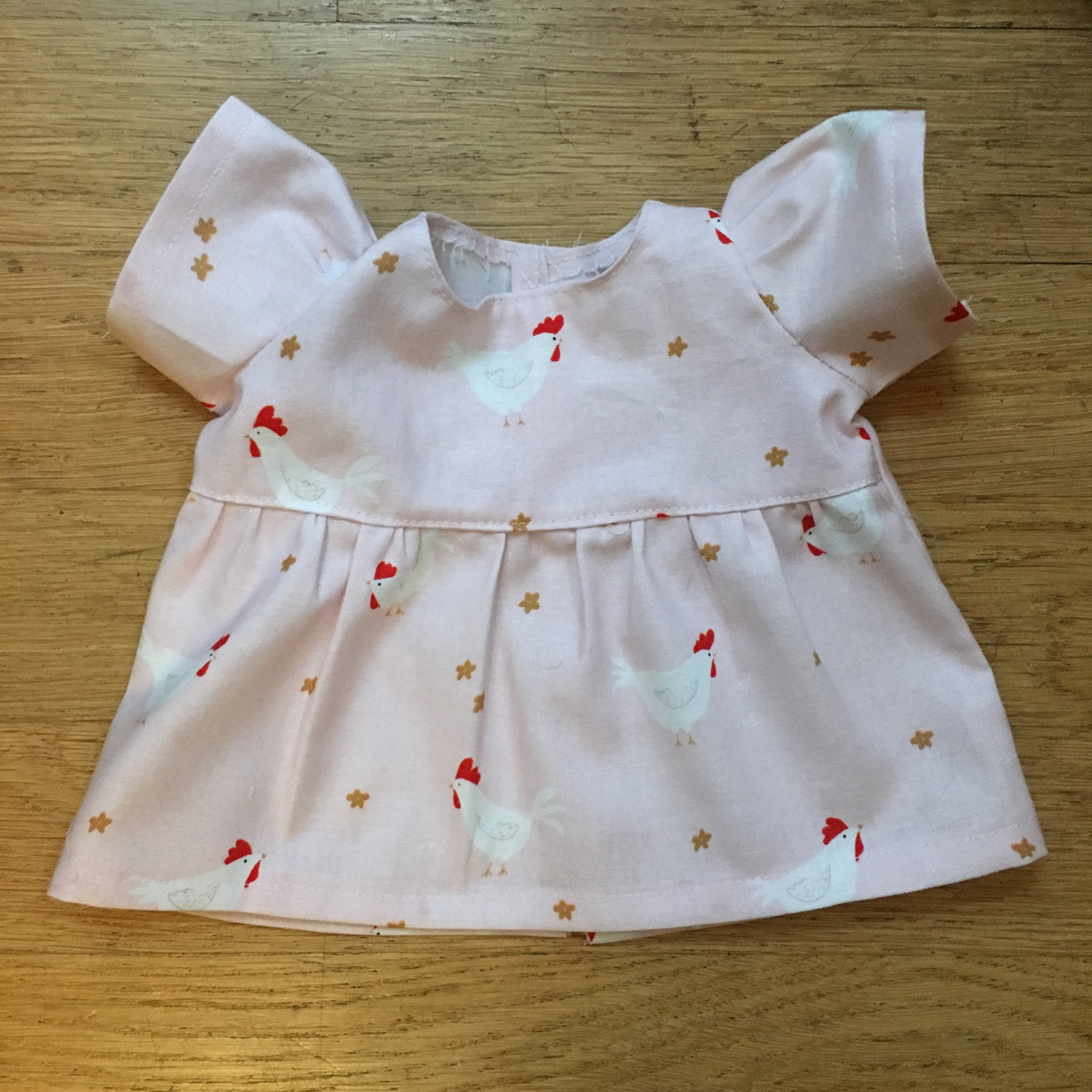 Tutorial  and pattern  to sew a dress for a  Bamboletta Baby Doll.
