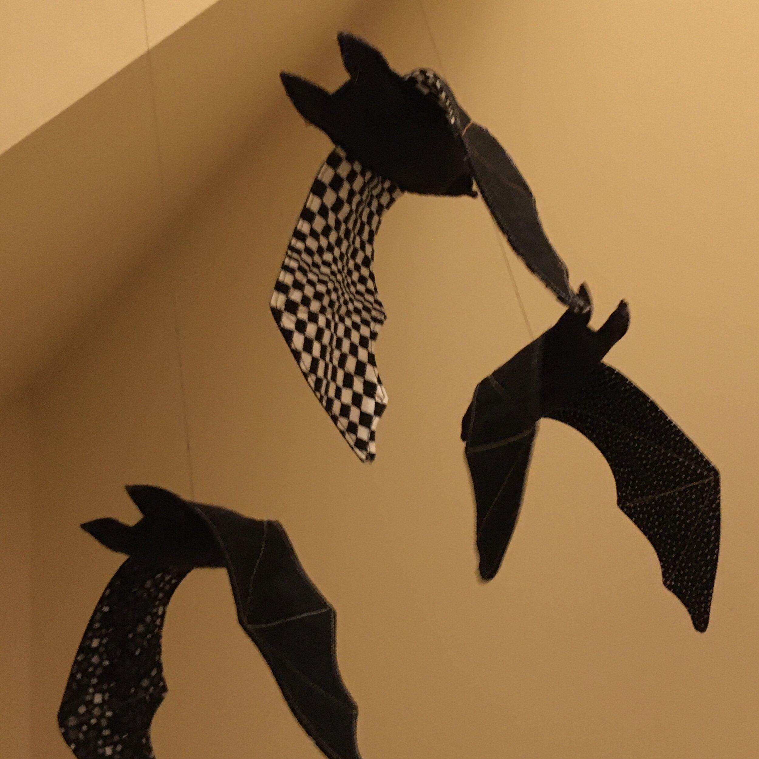 Bats from Modern Textiles tutorial