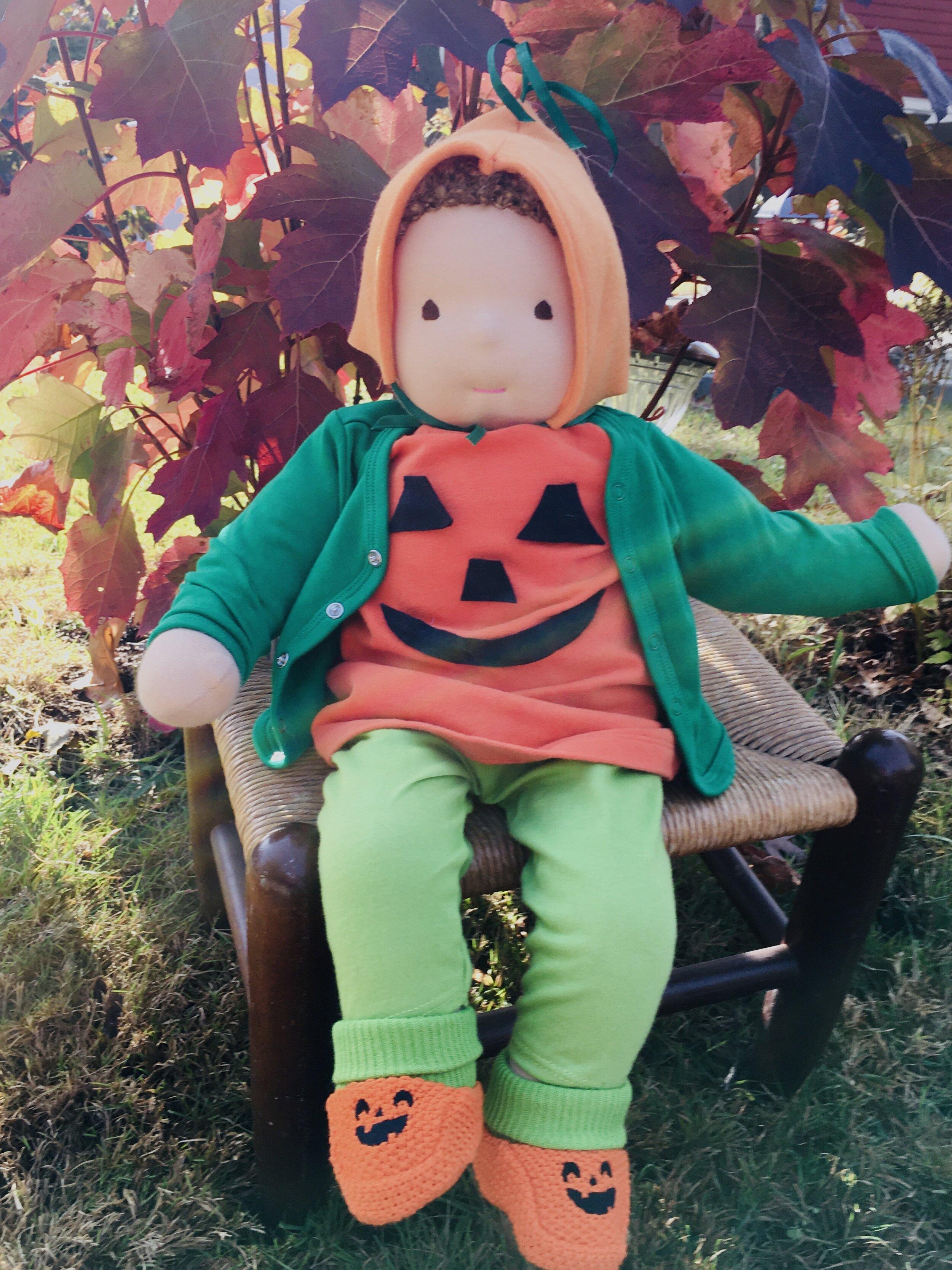 Big Baby's Halloween Pumpkin Costume