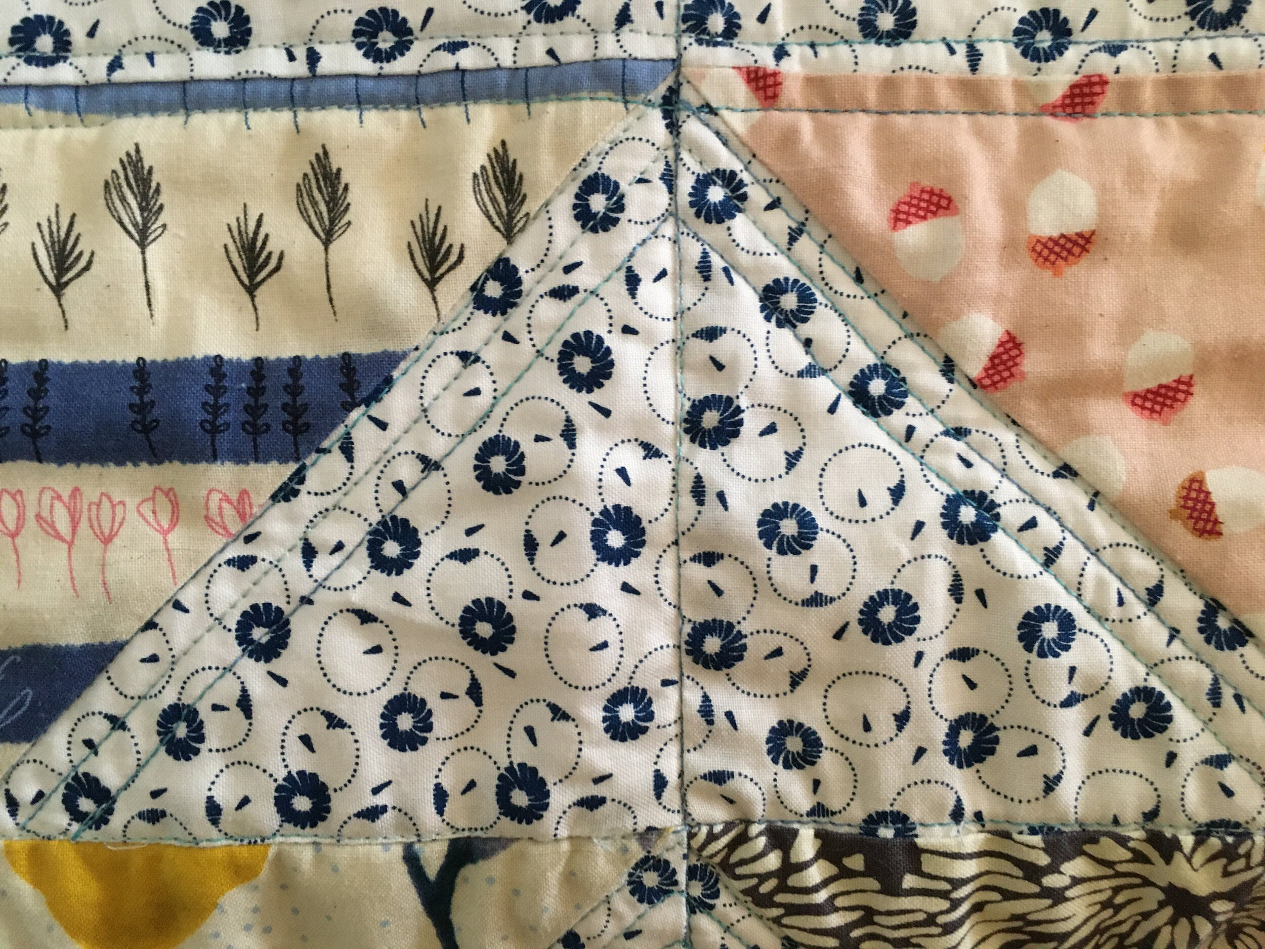 Walking Foot Stitching and Stitch-in-the-Ditch (sort of!)