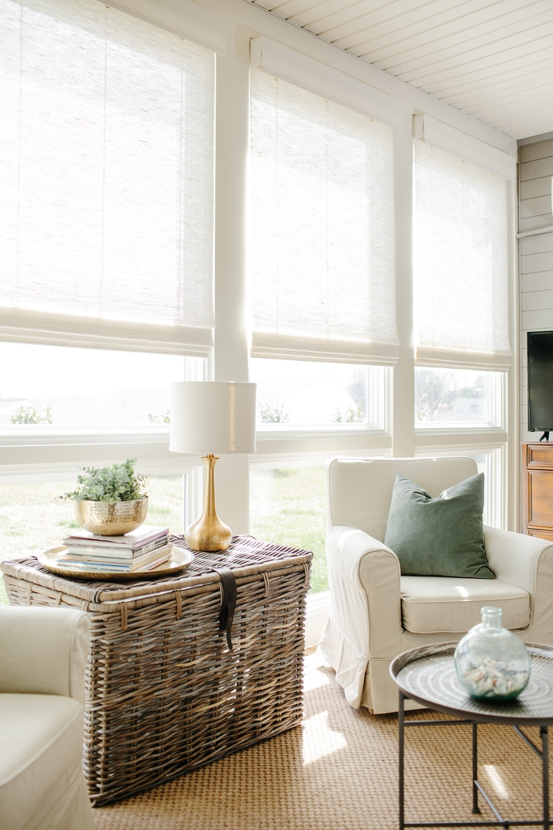 Hughes Home - Natural Woven Shades