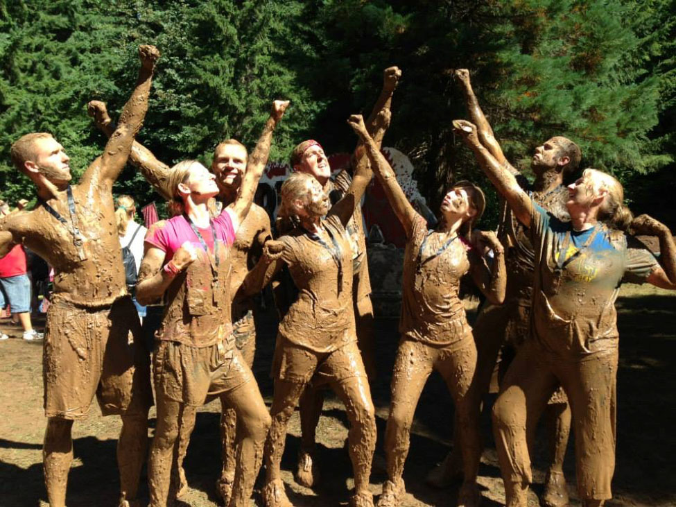 Tough Mudder Oregon race finish