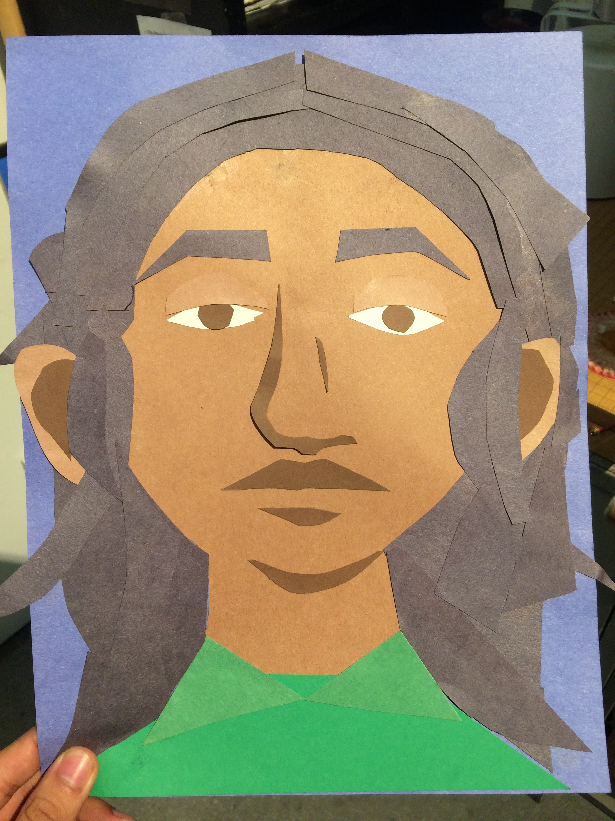 Self portrait made at Intermedia's Family Art Day! (2016)