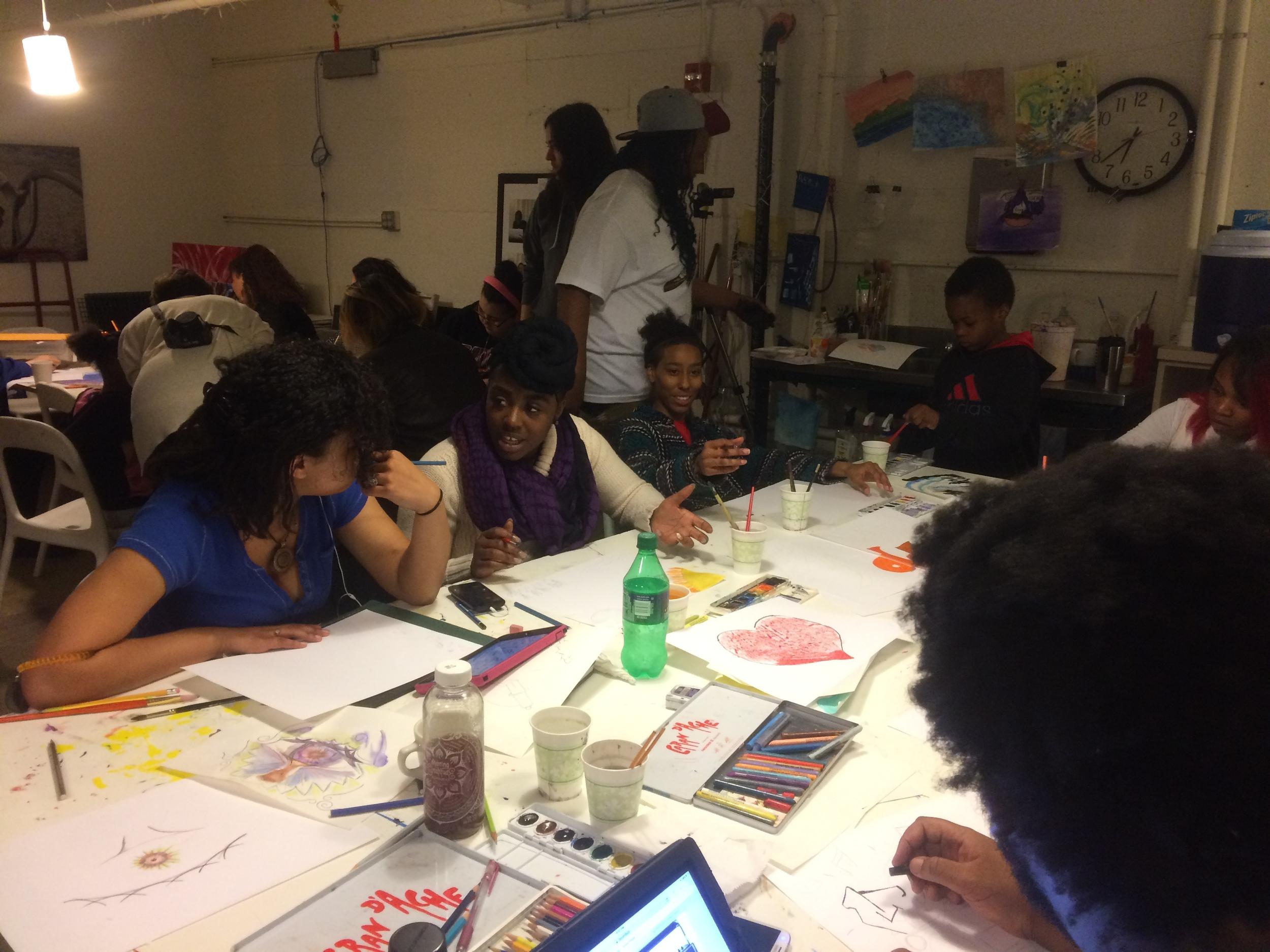Second watercolor workshop at Kulture Klub!