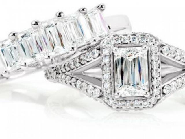 Crisscut Emerald-Cut Diamonds - Our Crisscut emerald-cut diamond has 77 facets to optimize brilliance and fire. This creates a