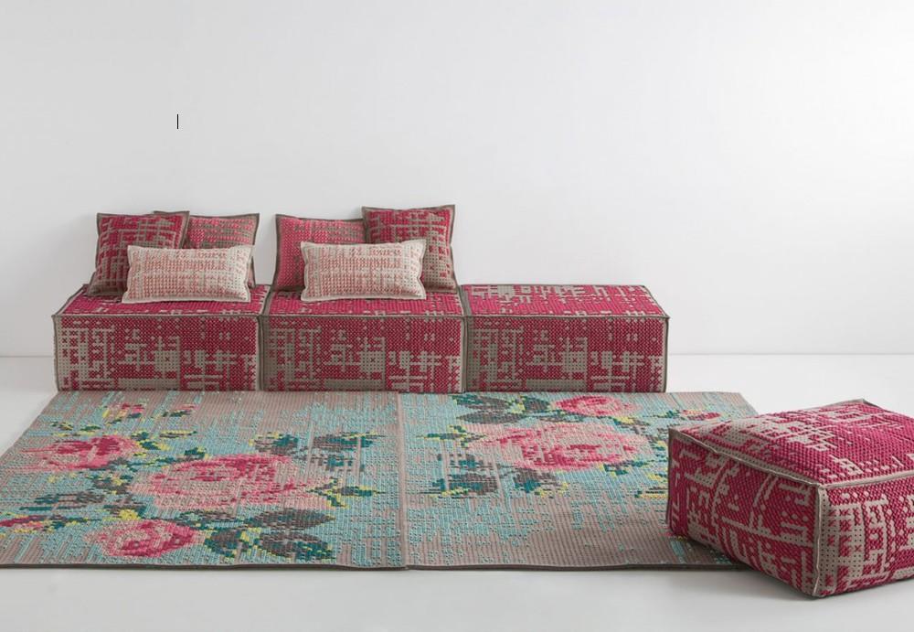 charlotte lancelot for gan rugs - canevas collection