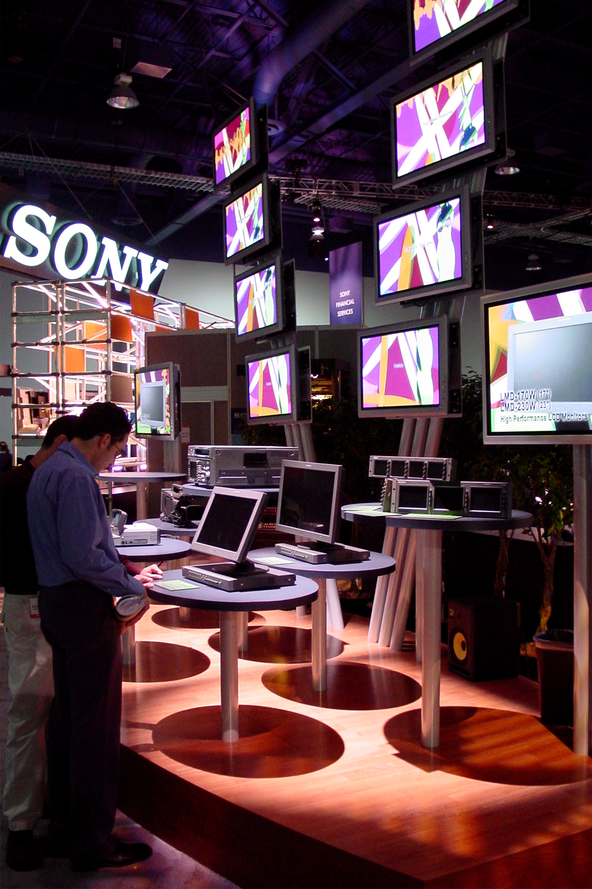 Sony NAB Booth