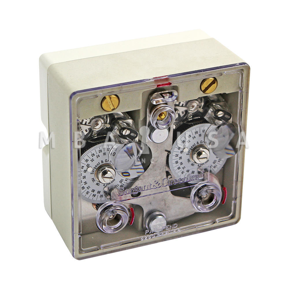 A two movement time lock, alarm package, and various electronic locks are available as options.