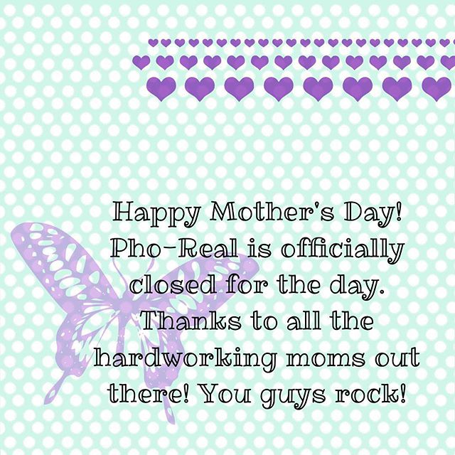 Thanks a million moms! You all make the world go round!!!💜