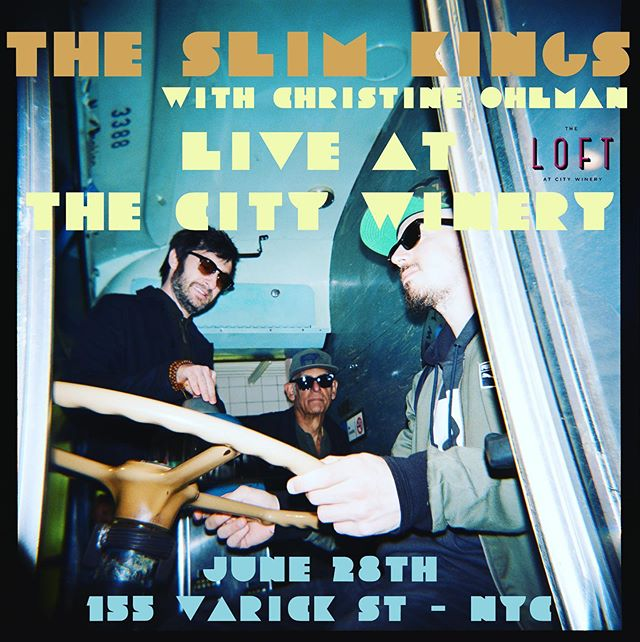 Take the bus, take the train, in the sun, or in the rain - @liberty_devitto and @andyattanasio and @theslimkings will be there.