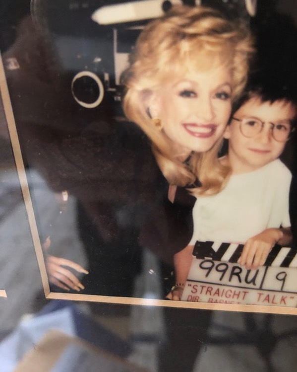 Throwback with @dollyparton. She let me direct this one.