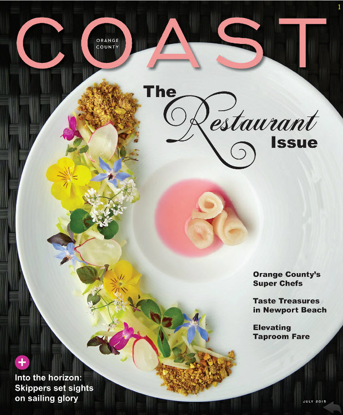 Our succulent wall featured in  Coast Magazine.
