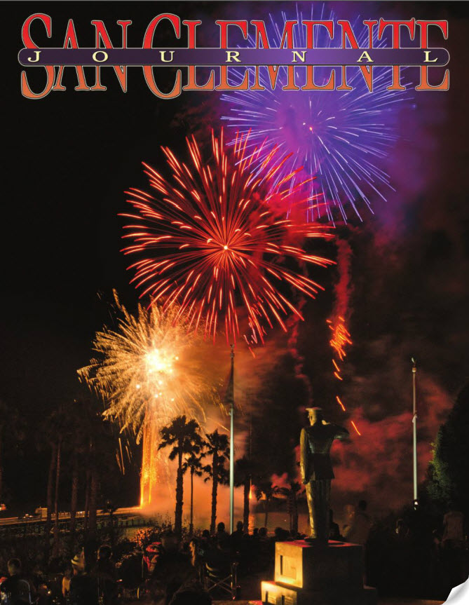SAN CLEMENTE JOURNAL. Link to publication imagery