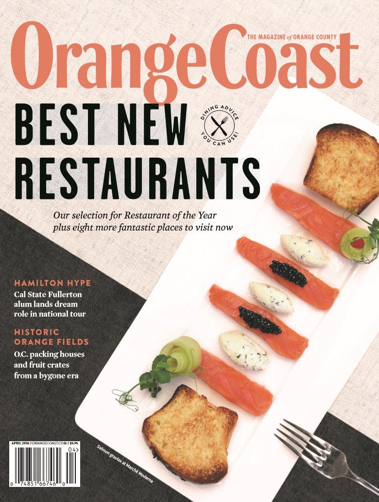 Orange Coast Magazine Feature. Link to publication imagery