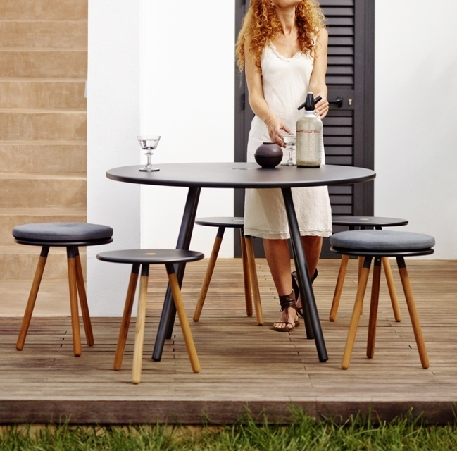 Area Black Dining Collection   Minimalistic functional design without unnecessary details.   Click to shop this collection.    Pair with Breeze lounge collection.