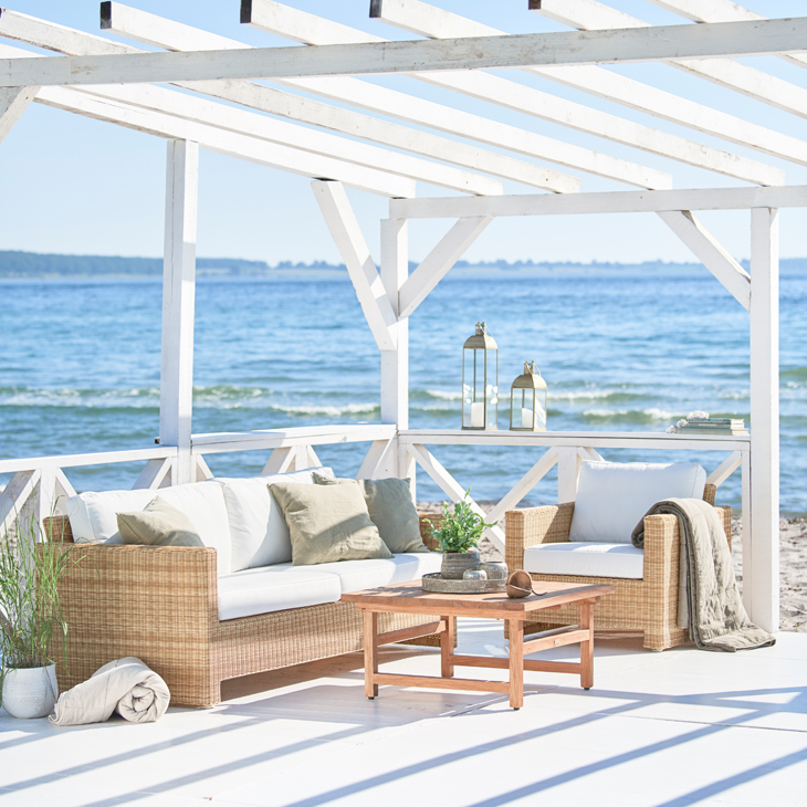 NEW Antibes Lounge Collection   Luxury rattan   Click to shop this collection.