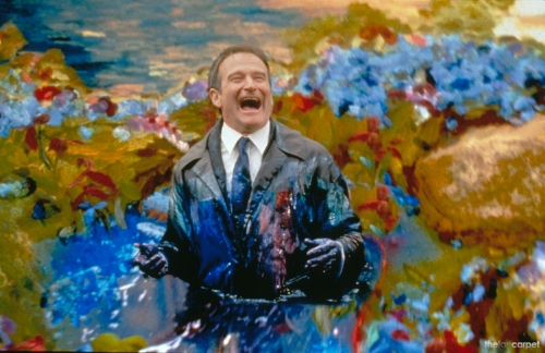 Here's hoping that wherever you are now, it looks and feels a lot like this, Robin Williams. Thank you for your incredible contributions to the hearts and souls of all who cherished you.