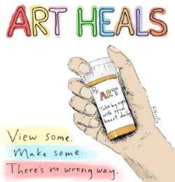 Art Heals by Kristin Noelle