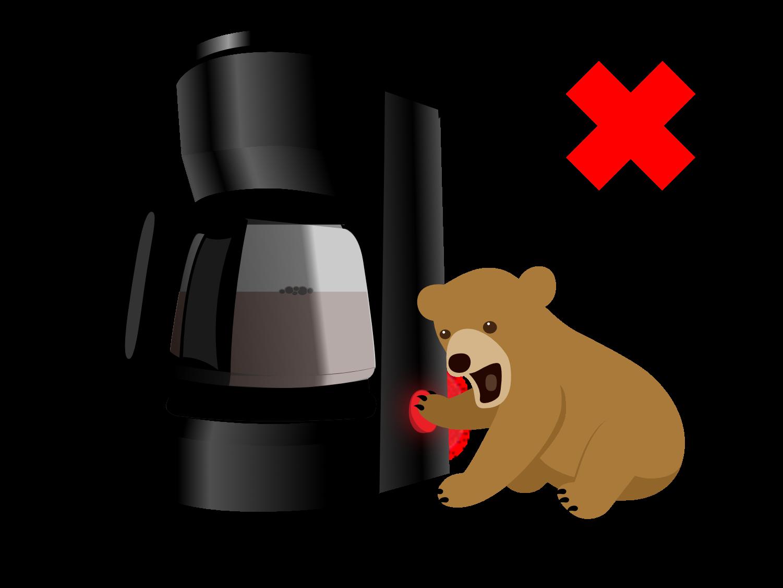 Baby bear didn't make the cut