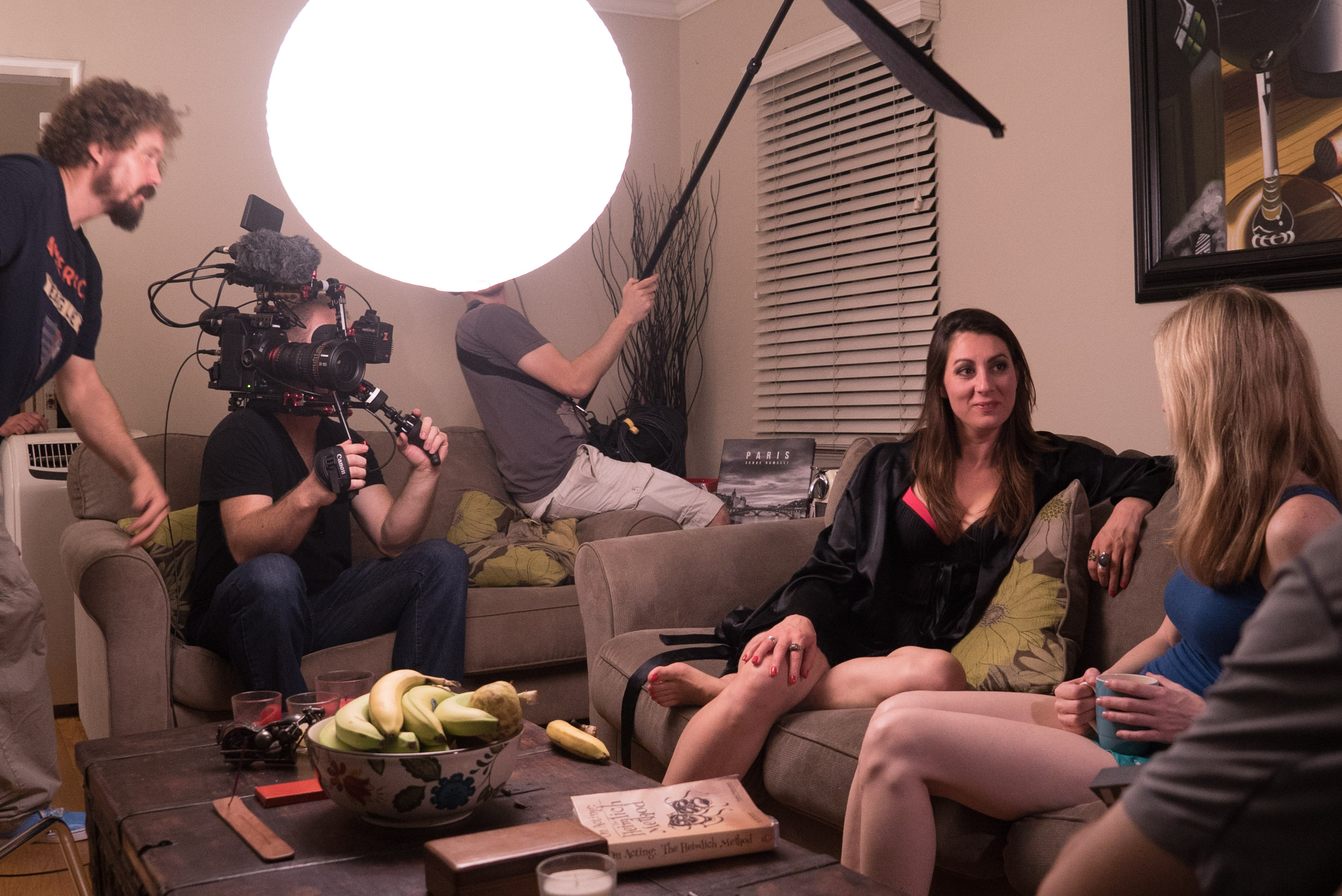90% of the film was shot handheld using the Canon C300 Mark II on the Zacuto Recoil Rig with the Gratical Viewfinder.