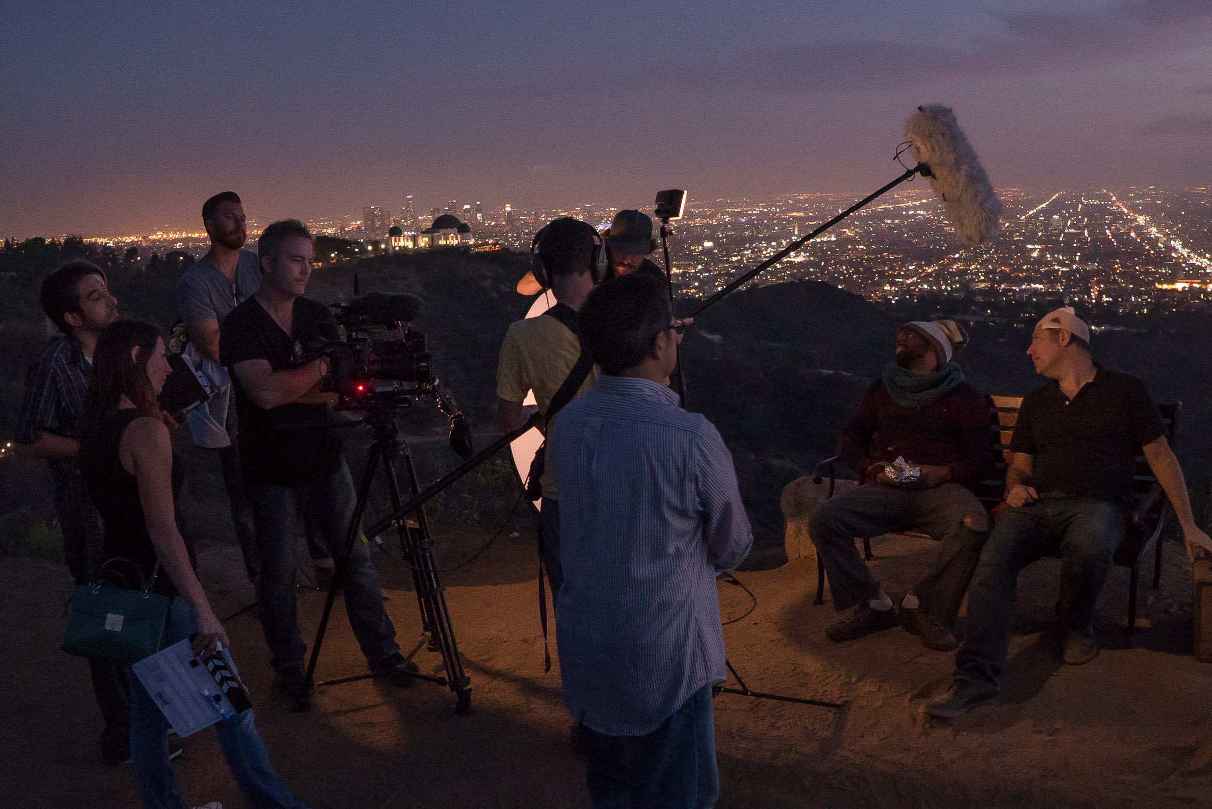 Hiking the camera gear up the Griffith Park trails along with all the props was...fun. Yeah let's just call it fun.