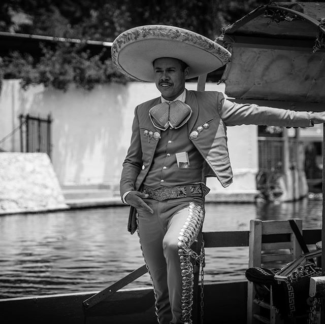 Xochimilco scenery. Enjoyed a morning with the family on the lake of Xochimilco. Got to shoot with the #canon5dmarkiv and #canon2470mm however I'll definitely bring the 70 to 200 along for the ride next time.