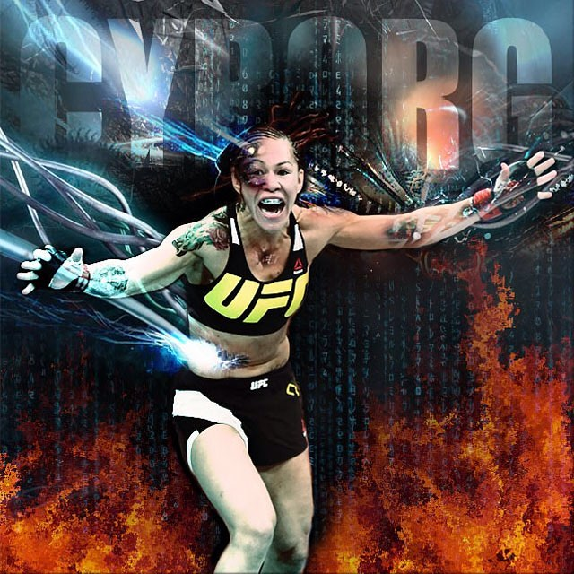 Good luck to @criscyborg this weekend!