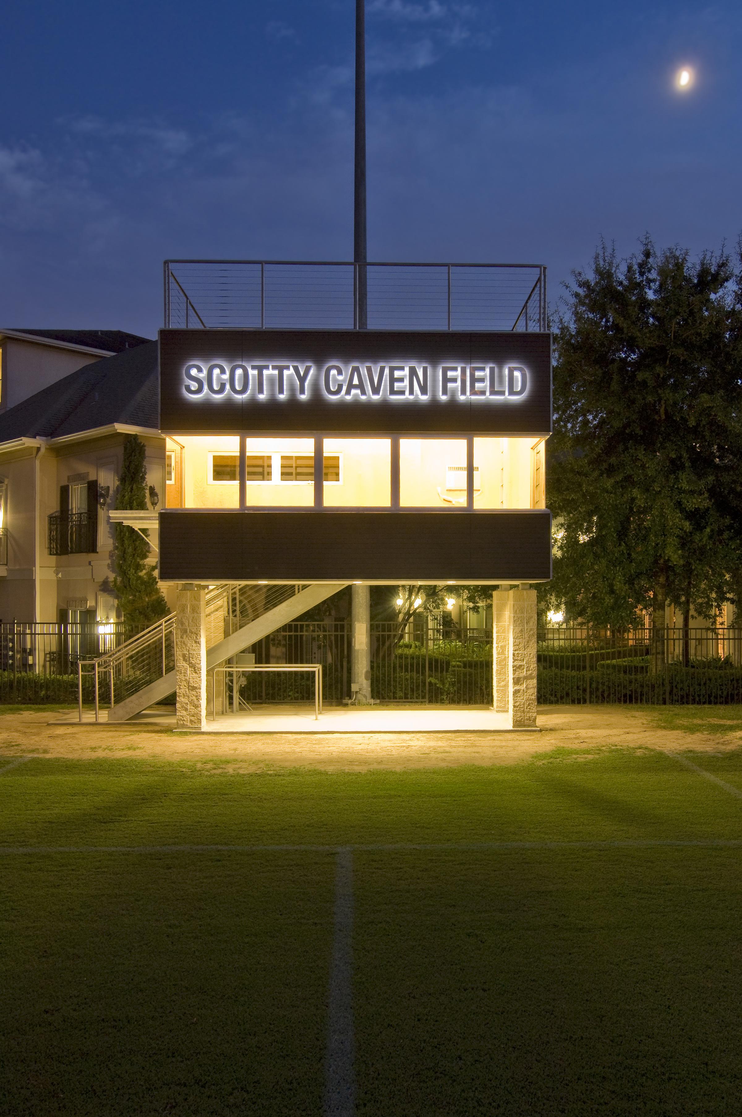 Scotty Caven Press Box
