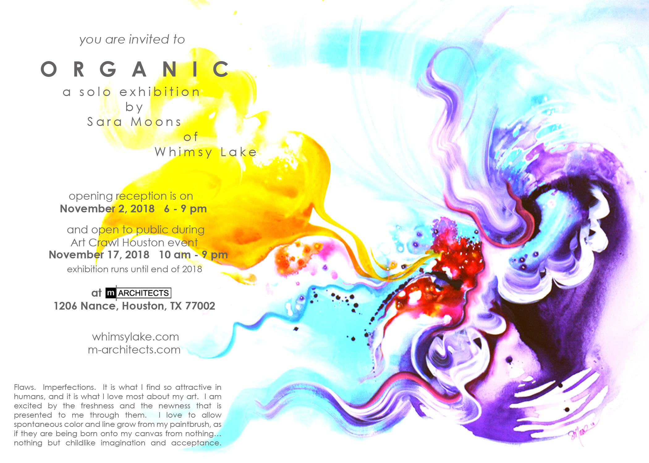 Organic Art Show