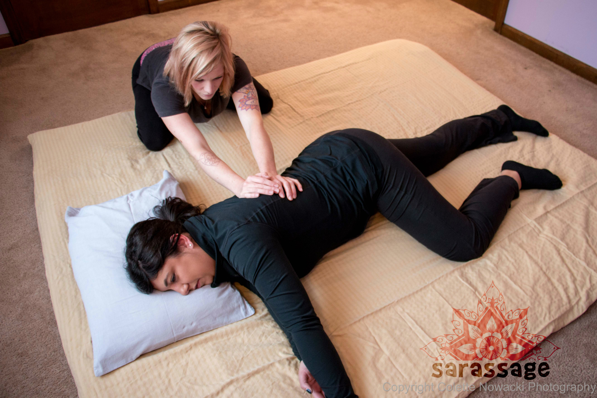 Basic Flow Thai Massage    60/$80 | 90/$115   Are you looking to increase your flexibility? This session is performed on a specialized Thai yoga mat (similar to a futon mattress) where the therapist uses deep compression techniques and assists you into various poses. Come to this session in loose, comfortable clothing and you will leave feeling loose, centered and invigorated. At this time, only 60/90 minute sessions are available for this service.