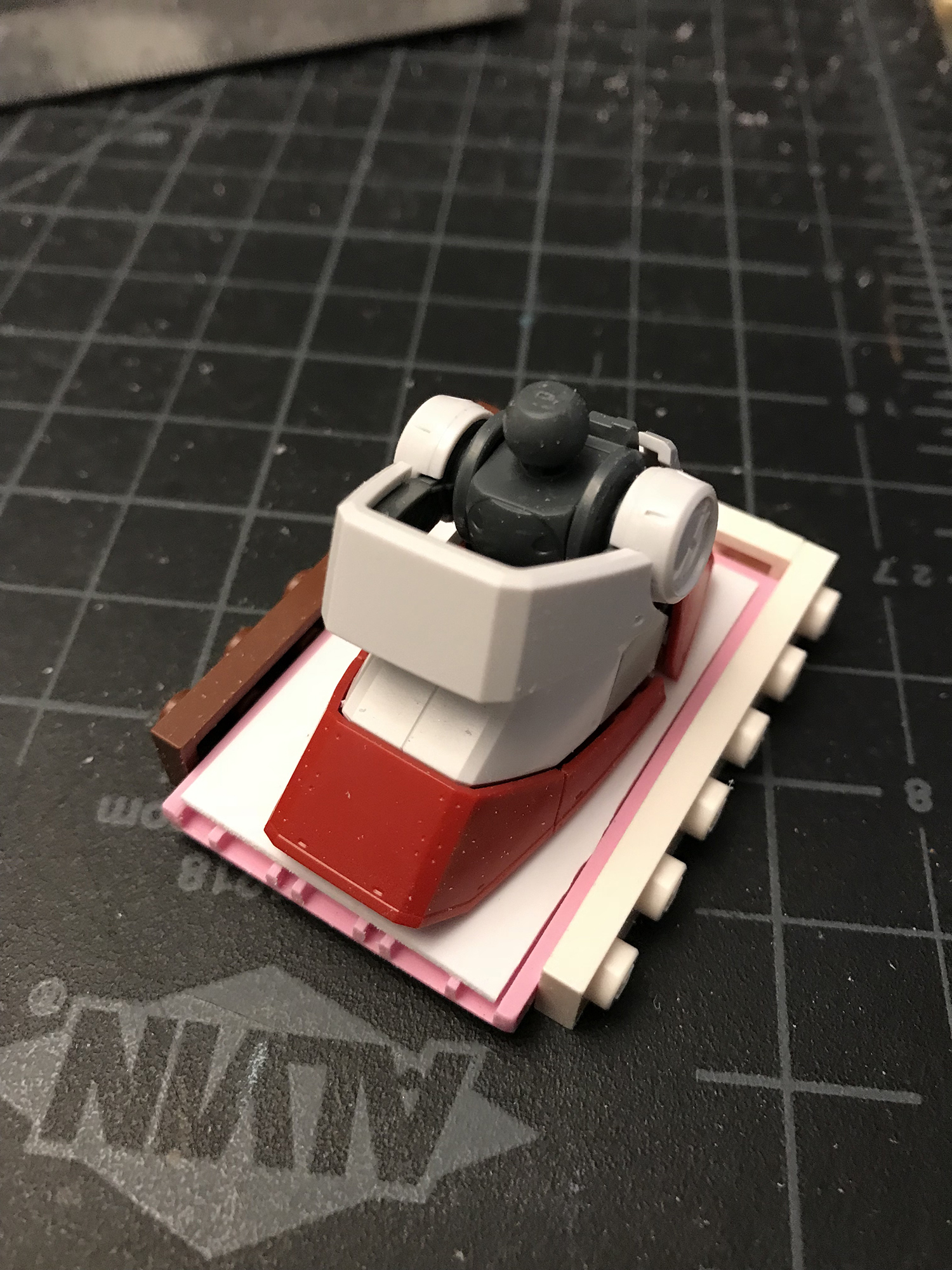 BEING RESOURCEFUL - Modifying Lego pieces and scratch-building