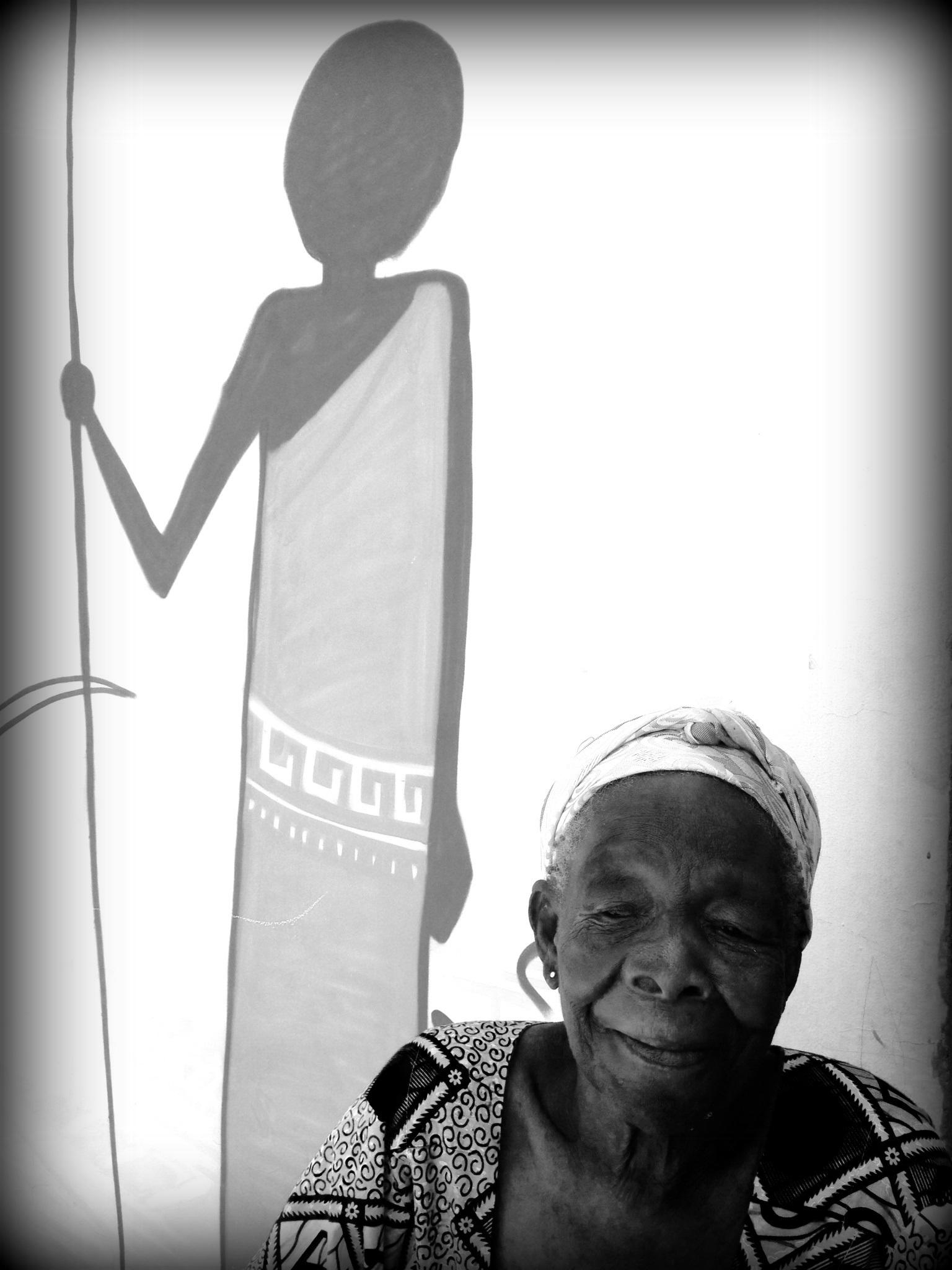Miss Hammond, Approx 85 years old, Stallholder