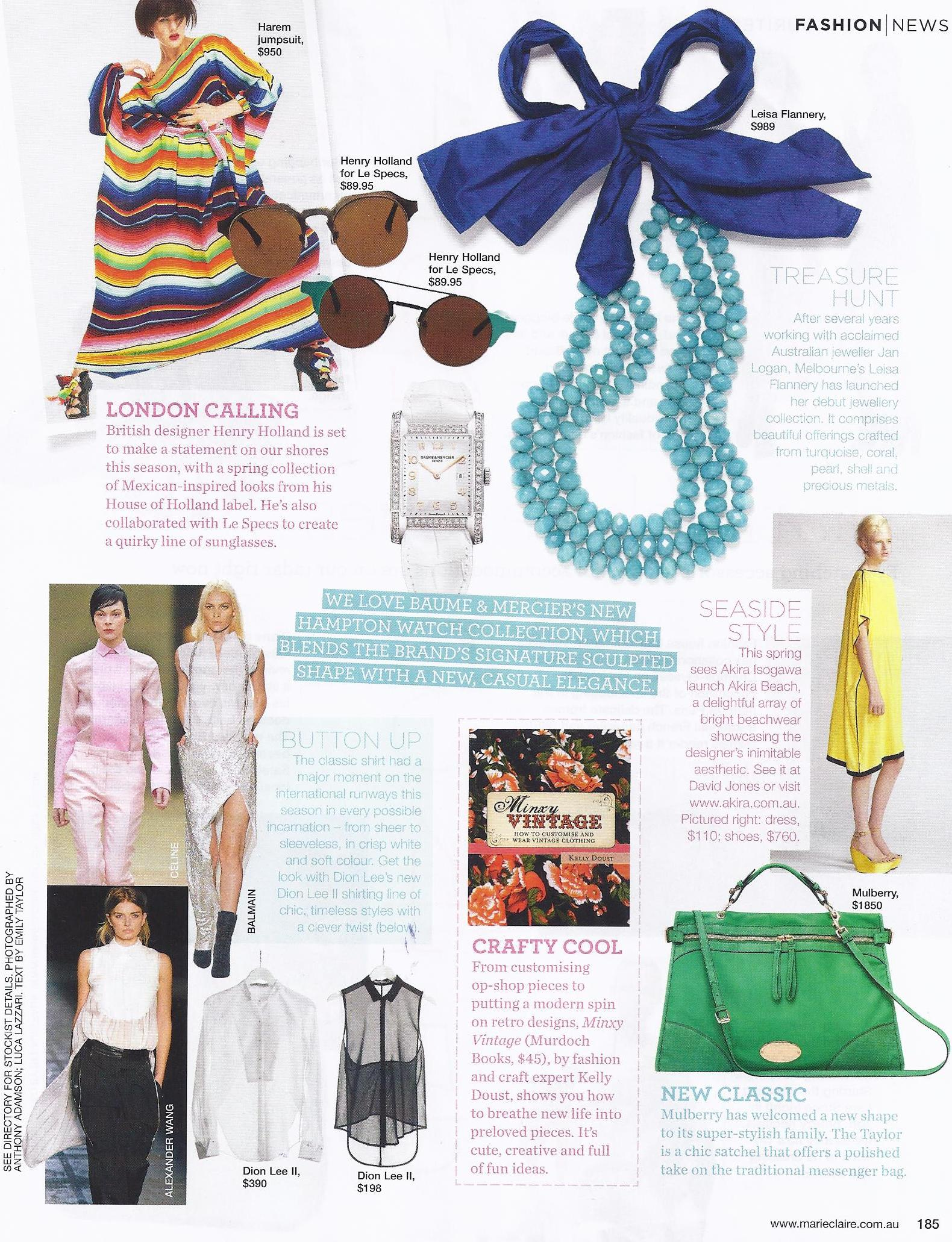 Marie Claire featuring the Silk Tie necklace.jpg