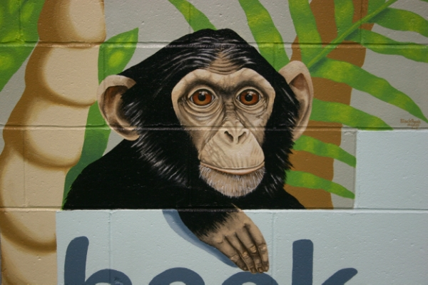 Detail of monkey