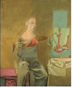 Example of de Kooning portrait