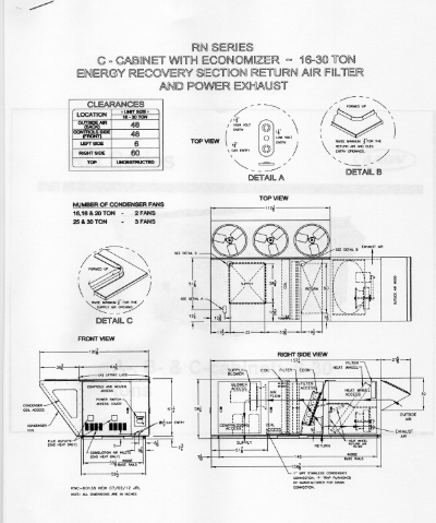 Seaman engineering drawing