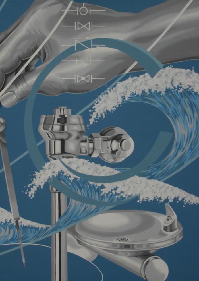 """Final panel - 3 of 3; """"Plumbing"""""""