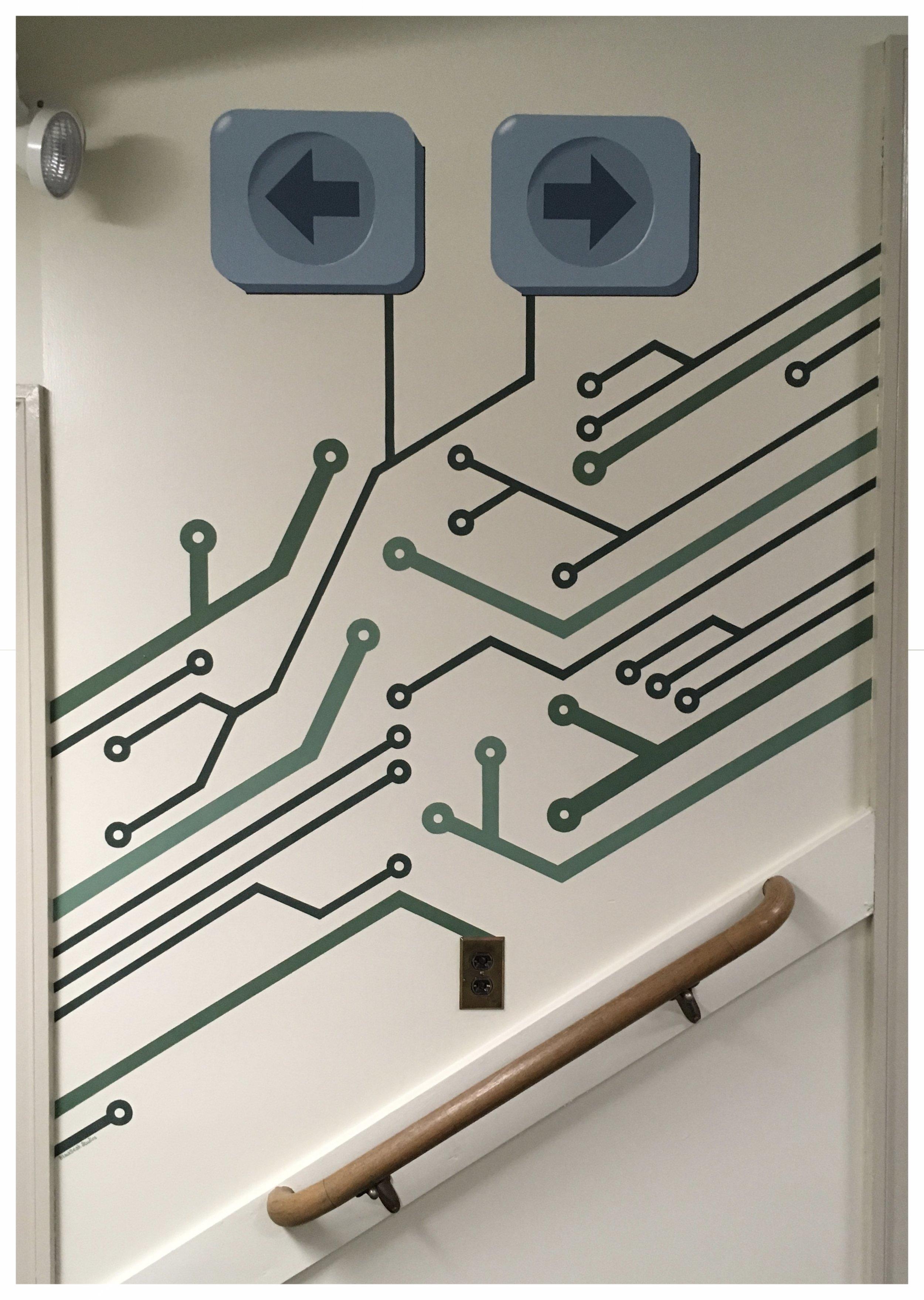 Circuit Board Mural
