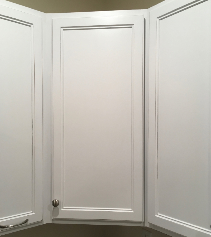 Detail of cabinet door